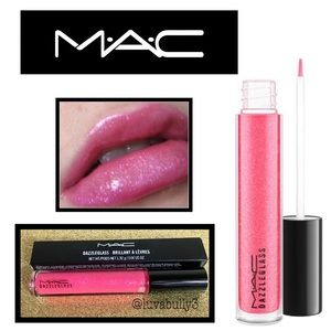 NIB MAC Dazzelglass Lip Gloss in 'Steppin' Out'